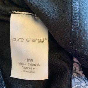 Pure Energy Swim - Pure Energy Size 18W Tankini Swimsuit Top